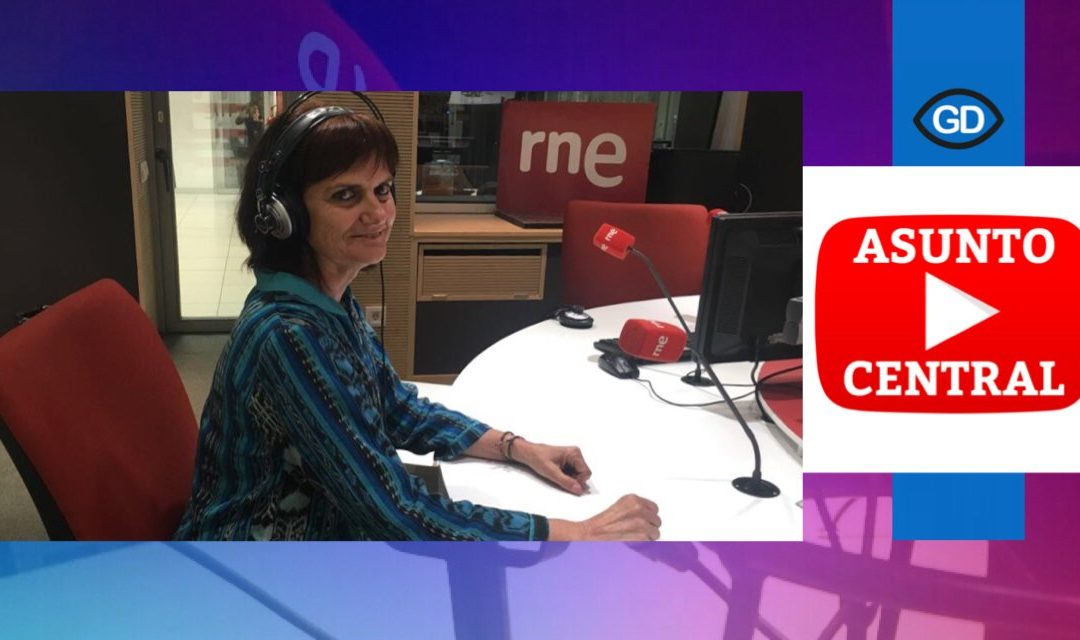 Marta Díaz, presidenta de InfoSF, entrevistada en RNE sobre la búsqueda de información sobre salud en la red