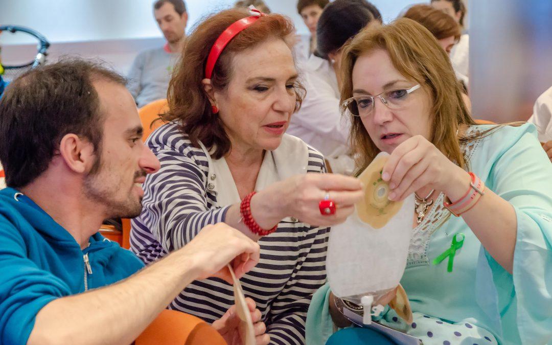 InfoSF participa en un taller sobre ostomía en niños y adolescentes
