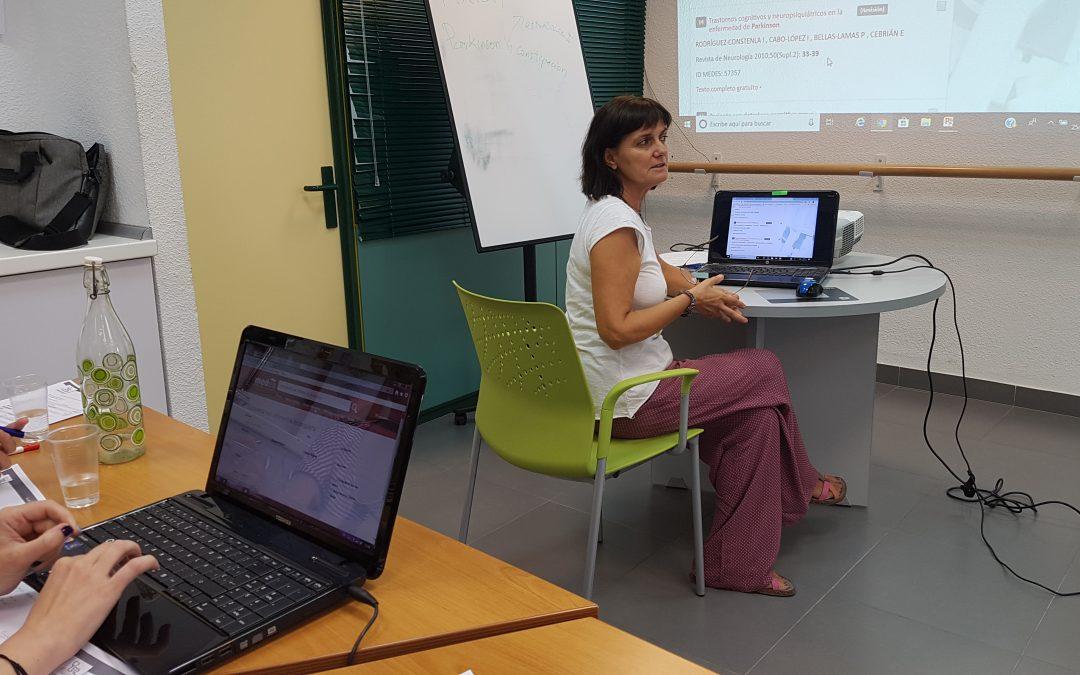 Curso de Infonautas en Salud 2.0 para la Asociación Párkinson Madrid