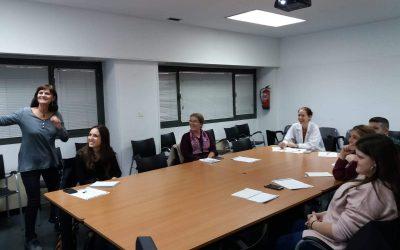 El taller de Infonautas en Salud 2.0 en el centro Dr. Cirajas de Madrid, en imágenes