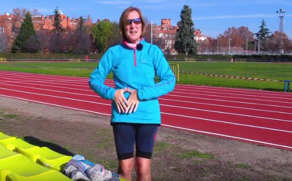 El valiosísimo testimonio de Natividad, una atleta ostomizada que nunca ha dejado de correr (EN VÍDEO)