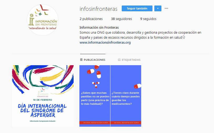 El trabajo de InfoSF cada vez más presente en redes sociales: ahora ¡también Instagram!