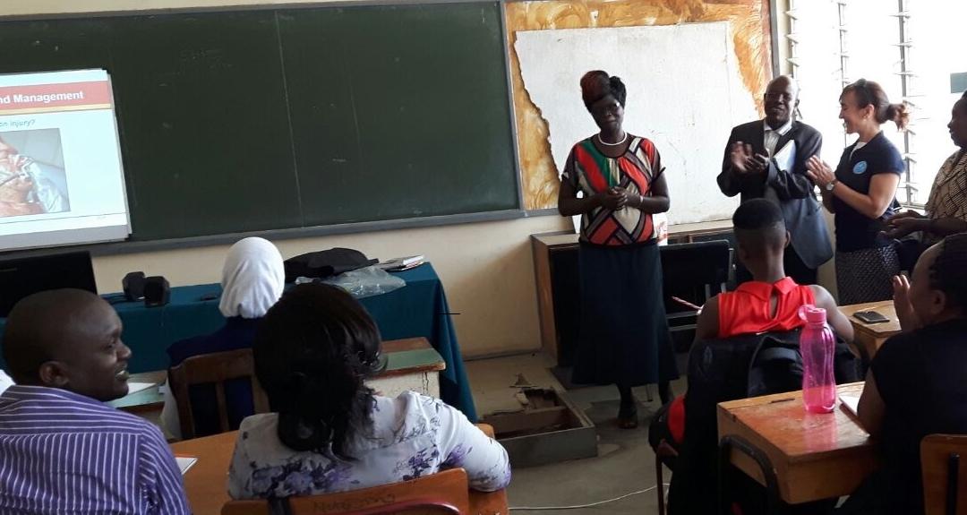 InfoSF cierra el mes de enero con 15 consultas respondidas a los estudiantes de Medicina del KMTC de Nairobi, en Kenia