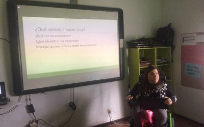 La psicóloga Lorena Lillo centra en las emociones su segunda charla a los jóvenes de Capacis (FOTOGALERÍA)