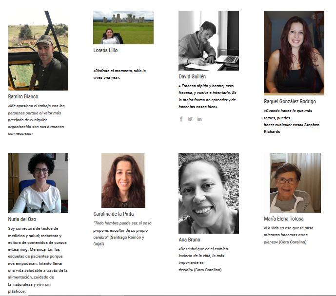 InfoSF «presume» en su página web de su nuevo plantel de voluntarios y voluntarias