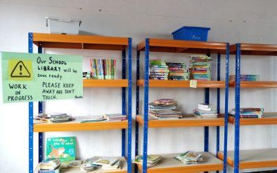 En marcha la biblioteca infantil de Rafiki gracias a los libros enviados por infoSF