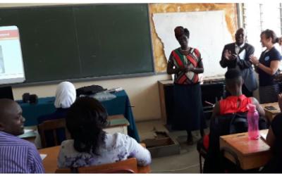 REPORTE FEBRERO: Biblioteca del Kenya Medical Training College e Información Sin Fronteras