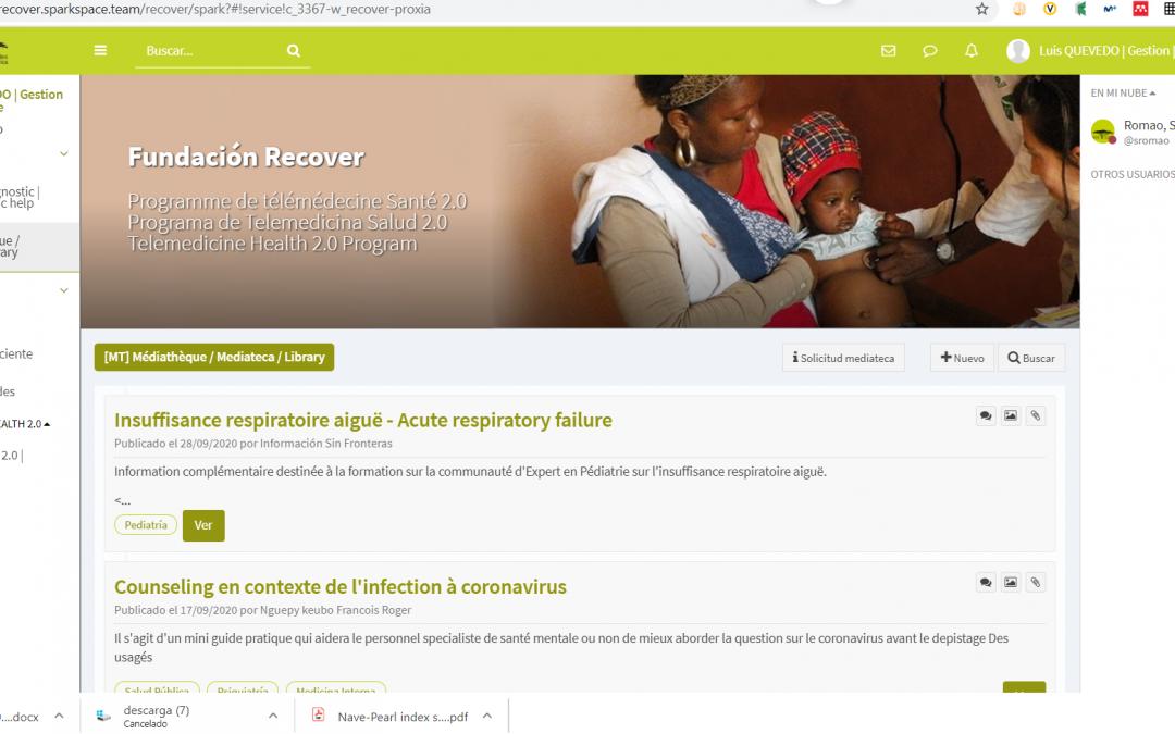 En marcha un servicio semanal de alertas para Fundación Recover