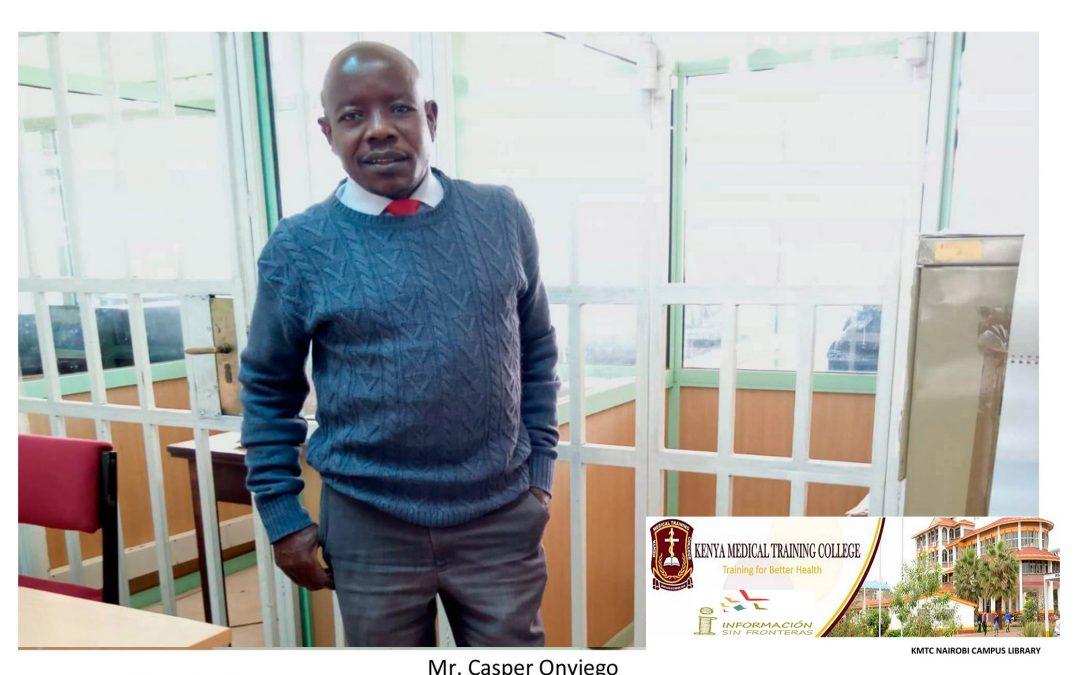 El acceso a 'Uptodate' vuelve a renovarse una vez más para el KMTC de Kenia